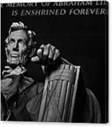 Lincoln The Legacy Of A President Canvas Print