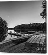 Lincoln Trail State Park Bw Canvas Print