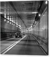 Lincoln Tunnel Drive  Canvas Print