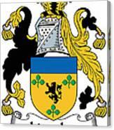 Lincolne Coat Of Arms Irish Canvas Print