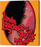 Linda Lovelace In Deep Throat Canvas Print