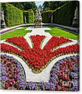 Linderhof Palace Gardens - Bavaria - Germany Canvas Print