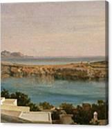 Lindos Rhodes Canvas Print