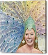Lindsay  Carnival Queen Canvas Print