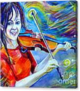 Lindsey Stirling Magic Canvas Print