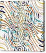 Line Movement Canvas Print