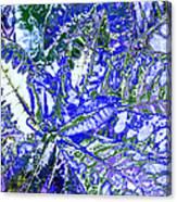 Line Texture Colour Canvas Print