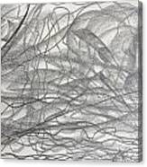 Linear Space Canvas Print
