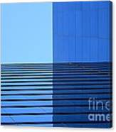 Squared Reflection Canvas Print