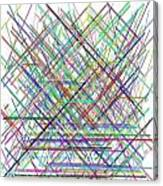 Lines.3 Canvas Print