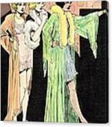 Lingerie Ladies Canvas Print