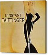 L'Instant Taittinger Canvas Print