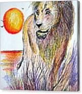 Lion Of Lions Canvas Print
