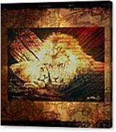 Lion Tapestry - Soulmates Canvas Print