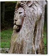 Lion Tree Canvas Print