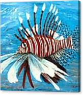 Lionfish IIi Canvas Print