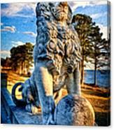 Lion's Bridge Canvas Print