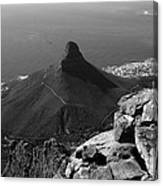 Lions Head - Cape Town - South Africa Canvas Print