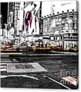 Lip Smack Nyc Canvas Print