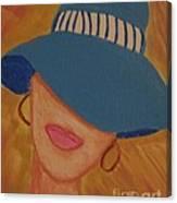 Lips V Canvas Print