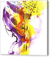 Liquid Bouquet Canvas Print