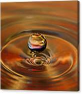Liquid Orb Canvas Print