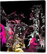 Liquid Spikes  Canvas Print