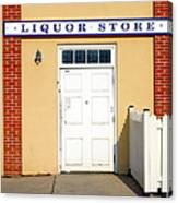 Liquor Store Canvas Print