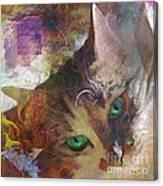 Lisa Beckons - Square Version Canvas Print