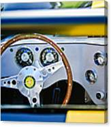 Lister Steering Wheel Canvas Print