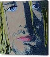 Literally Kurt Cobain Canvas Print