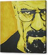 Literally Walt White Canvas Print