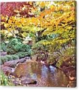 Lithia Park Ablaze With Fall Color Canvas Print