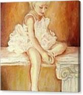 Little Ballerina Canvas Print