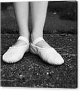 Little Ballerina Feet Canvas Print