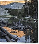 Little Bear Peak Reflection Canvas Print