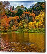 Little Beaver Creek Bend Canvas Print