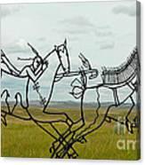 Little Bighorn Battlefield Canvas Print