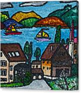 Little Bit Of Swiss Canvas Print
