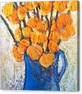 Little Blue Jug Canvas Print