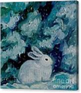 Little Bunny Foo Foo Canvas Print