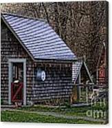 Little Cedar Shake Building Canvas Print