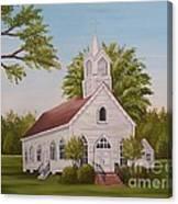 Little Chapel Canvas Print
