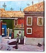 Little Corner Of Venice Canvas Print
