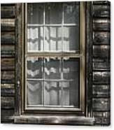 Little Cottage Window Canvas Print