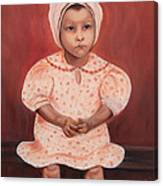 Little Cottonpicker  Canvas Print