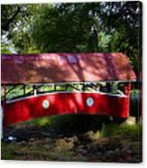 Little Covered Bridge Canvas Print