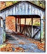 Little Covered Bridge II Canvas Print