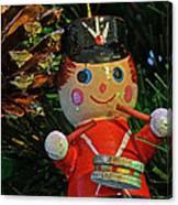 Little Drummer Boy Ornament Canvas Print