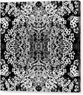 Little Flower Kaleidoscope Canvas Print
